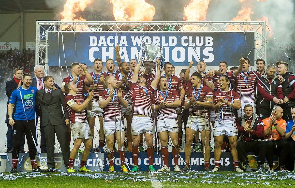 Los Wigan Warriors vencen su cuarto título de World Club Champions!!!