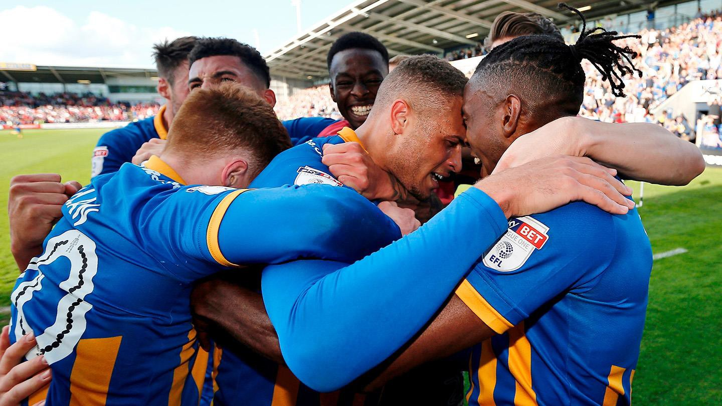 ¡Shrewsbury conquista otra final play off en Wembley! ¡ cita es el 27 de mayo!