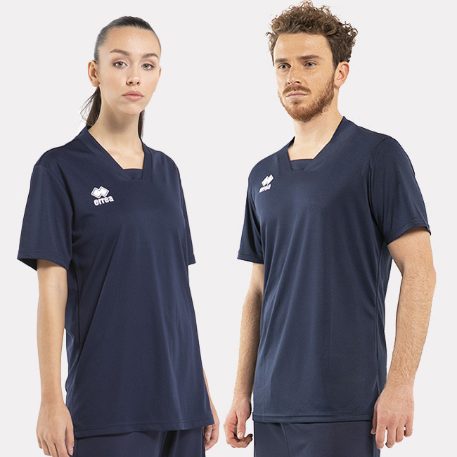 HUNTER - BASKETBALL WARM-UP SHIRT BLU-6 - ERREÀ